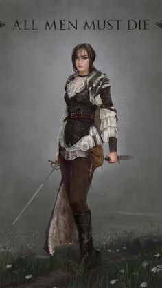 Arya - by Dimitri NeronFanart redesign of Game of Thrones for the Brainstorm challenge 23More selected entries [here]