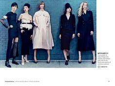 Identity Politics, by Craig McDean, US Vogue July 2013