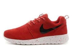 Now Buy Nike Roshe Run Suede Mens Waterproof Red Black Shoes For Sale Save Up From Outlet Store at Footlocker. Shoes Uk, Nike Shoes, Sneakers Nike, Red And Black Shoes, Red Black, Nike Roshe Run Black, Nike Air Max, Newest Jordans, Foot Locker