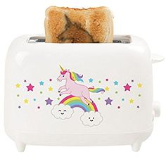 Bestron DUC800T Einhorn Toaster Limited Edition, 700 W