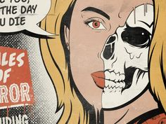Tales of Horror Cover by Stephen Dziedziak on Dribbble