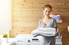 Hard water is a common problem in many households. Cleaning 'chemicals' designed to remove hard water residue and stains can pollute your environment and jeopardize your health. Find out the best essential oils to use as an alternative to remove mineral laden hard water film from your clothes and other household items. #laundry #essentialoilblends #essentialoilrecipes #hometasking #purity #detox #cleaning #clean #essentialoils #Recipes #essentialoil #Chemistry Doing Laundry, Laundry Room, Clean Bedroom, Bedroom Cleaning, Healthy Crockpot Recipes, Housewife, Household Items, Housekeeping, Healthy Skin