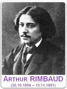 ARTHUR RIMBAUD | #ArthurRimbaud
