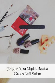 7 Signs You Might Be at a Dirty Nail Salon Advice Nurse, How To Store Potatoes, Salon Signs, Healthy Mind And Body, Dewy Skin, How To Treat Acne, Salicylic Acid, All Things Beauty, Nail Salons