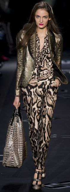 Diane von Furstenberg Collections Fall Winter 2013-14