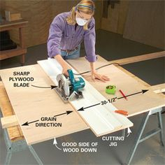 The plywood cutting jig I've always needed.