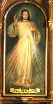 """I love the Divine Mercy painting and St. Faustina's Diary  """"Divine Mercy in My Soul""""   Jezu Ufam Tobie is Polish and means """"Jesus, I Trust in You!!!""""   ...... the only way to live................"""