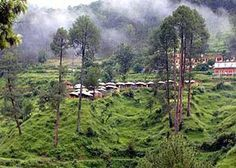 Beautiful town of Uttarkashi, Uttaranchal, India