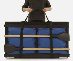 Foldboat is a flat-pack leisure boat that can be assembled in a very short time!