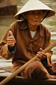 I have a photo of this man too!! - Hoi An, Vietnam
