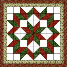 Ideas For Patchwork Quilt Navidad Natal Quilt Square Patterns, Patchwork Quilt Patterns, Barn Quilt Patterns, Hanging Quilts, Quilted Wall Hangings, Colchas Quilting, Quilting Projects, Half Square Triangle Quilts, Square Quilt