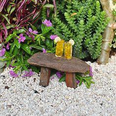 Miniature Fairy Garden Driftwood Bench, 1 Piece for sale online Fairy Garden Supplies, Miniature Fairy Gardens, Fairy Houses, Lawn And Garden, Faeries, Driftwood, 1 Piece, Recycling, Bench