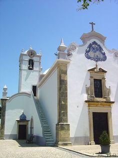 Typical southren #portuguese architecture - Church/ Igreja de São Lourenço - Almancil #Algarve #Portugal