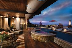 Up, Up and Away - San Diego Home/Garden Lifestyles Dramatic Lighting, San Diego Houses, Party Venues, Home Renovation, Rooftop, Home And Garden, Fire, Mansions, Lifestyle