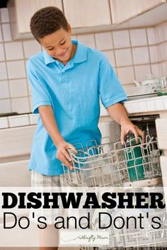 Dishwasher Do's and