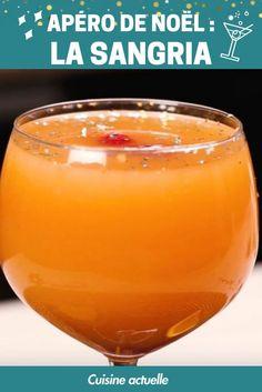 Placez Noël sous les meilleurs auspices en préparant cette délicieuse sangria de fêtes. Un cocktail qui mettra tout le monde en joie dès l'apéro !