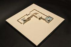 Carlo Scarpa's Brion Tomb Cardboard Model 1:200 Federico Meroni Politecnico di Milano