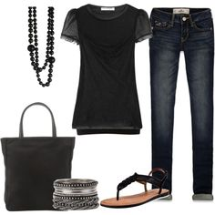 Valentino Top and Skinny Jeans :)