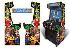 Beautiful Custom Arcade Cabinet Graphics