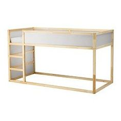 IKEA - KURA, Bett umbaufähig, , Umgedreht verwandelt sich das Bett schnell von einem niedrigen Bett in ein Hochbett - und umgekehrt.