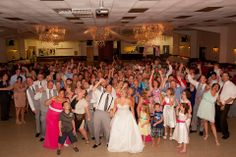 Nice firehall wedding reception.