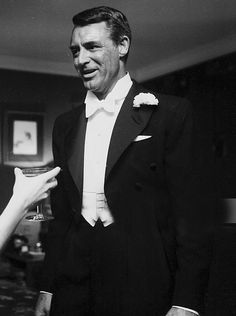 """gregorypecks: """" Cary Grant attending a wedding, 1955 """" Vintage Hollywood, Classic Hollywood, Gary Grant, Mack The Knife, Becoming An American Citizen, Old Movie Stars, Charming Man, Hollywood Actor, Gorgeous Men"""