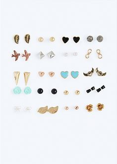 Free As A Bird Stud Pack | Earrings | rue21