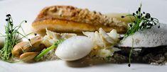 "Sea Garnish - edible sand, sea foam and seafood --- Heston Blumenthal's ""Sound of the Sea"" copycat"