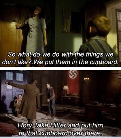Doctor Who | Putting Hitler in the cupboard