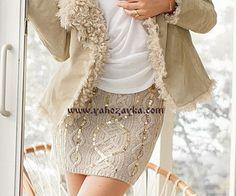 Юбка с аранами от Victoria' s Secret. Схемы вязания юбки спицами для женщин. Обсуждение на LiveInternet - Российский Сервис Онлайн-Дневников Sequin Skirt, Victoria Secret, Sequins, Knitting, Crochet, Skirts, Tops, Women, Fashion