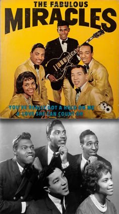 The Fabulous Miracles (1963) LP