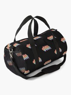 """""""Wap"""" Duffle Bag by ind3finite   Redbubble Duffle Bags, Mask For Kids, Chiffon Tops, Gym Bag, Shoulder Strap, Classic T Shirts, Backpacks, Stuff To Buy, Accessories"""