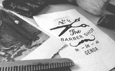 Scissor & Co. - The Barber Shop in Genoa by vacaliebres , via Behance
