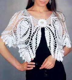 Crochet Pattern Of Gorgeous Cape
