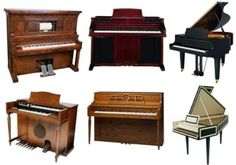 Read about all the different kinds of pianos