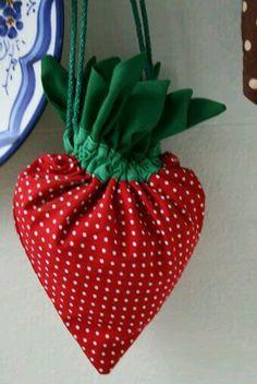 Darling strawberry bag