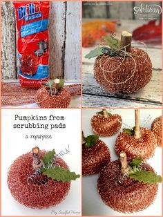 Fall Pumpkin Crafts, Thanksgiving Crafts, Fall Pumpkins, Fall Crafts, Holiday Crafts, Crafts For Kids, Adult Crafts, Fall Halloween, Halloween Crafts