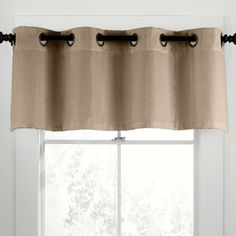 Features:  -Luxurious.  -Metal grommet header.  -Material: 100% Linen.  -Style…