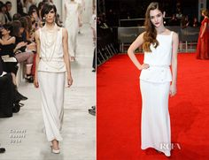 Sai Bennett In Chanel – 2014 BAFTAs