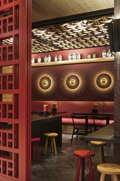 Mi__ Contemporist Restaurant Design Chinese Restaurant Restaurant Lighting Restaurant Bar Japanese