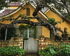 Carmel-by-the-Sea cottage gate