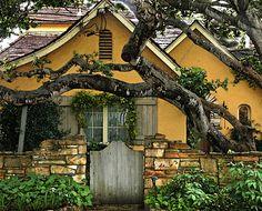 Charming Carmel cottages.