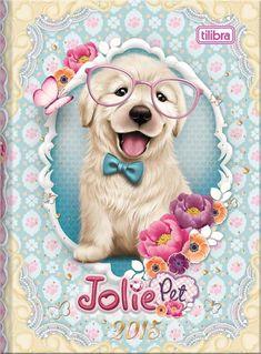 Agenda Costurada Jolie Pet Petit 2015 - Tilibra