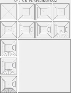 Printables One Point Perspective Worksheet onepointperspectiveworksheets one point perspective city draw a surrealistic room in perspective