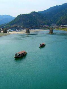 kintaikyou bridge, iwakuni, Japan
