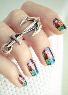 Beautiful nails | See more at http://www.nailsss.com/colorful-nail-designs/4/