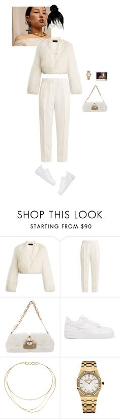 """conflict free"" by luxe-no-fuxe ❤ liked on Polyvore featuring Haider Ackermann, Khaite, Jimmy Choo, NIKE, Tiffany & Co. and Audemars Piguet"