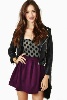Cute party outfit (Carolina Sanchez for Nasty Gal 2013)