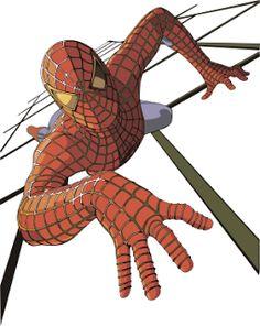 vectores homem aranha