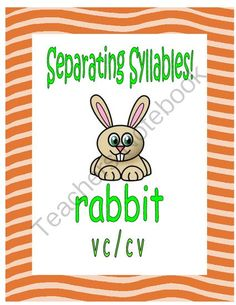 Separating Syllables!   VC/CV Words from Essential Reading Skills on TeachersNotebook.com -  - Teach a key component of the word decoding process with syllabication of words. Teach VC/CV division of words as the beginning for students to unlock the door to many difficult words when reading.